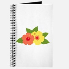 Hibiscus Flowers Tropical Journal