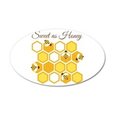 Sweet As Honey Wall Decal