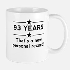 93 Years New Personal Record Mugs