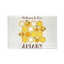 Welcome To Our Apiary Magnets