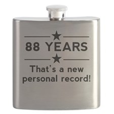 88 Years New Personal Record Flask
