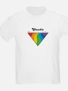 Claudia: Proud Lesbian T-Shirt