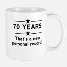 70 Years New Personal Record Mugs