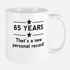 65 Years New Personal Record Mugs