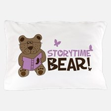 Storytime bear Pillow Case