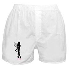 Standing Silhouette Angel Boxer Shorts