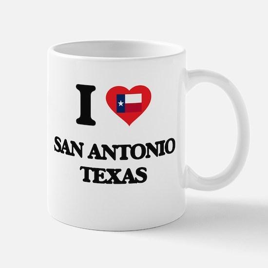I love San Antonio Texas Mugs