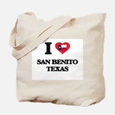 I love San Benito Texas Tote Bag