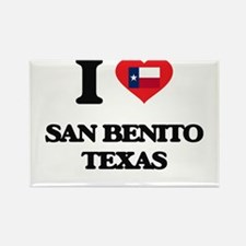 I love San Benito Texas Magnets