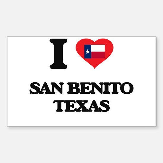 I love San Benito Texas Decal