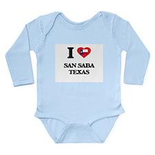 I love San Saba Texas Body Suit