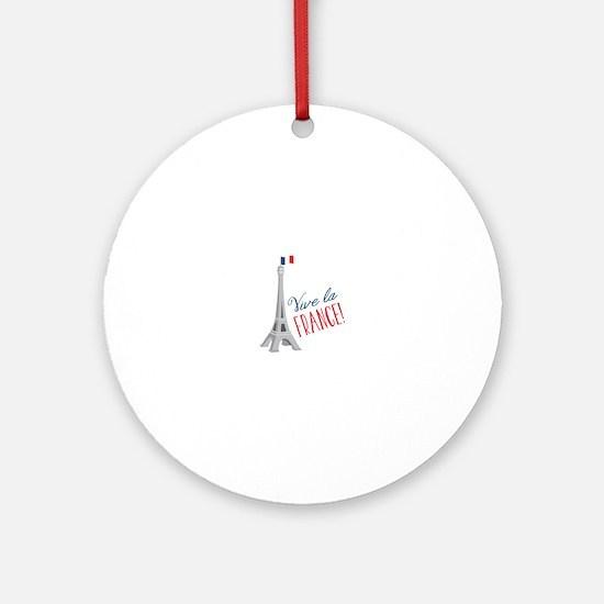 Riva La France Ornament (Round)