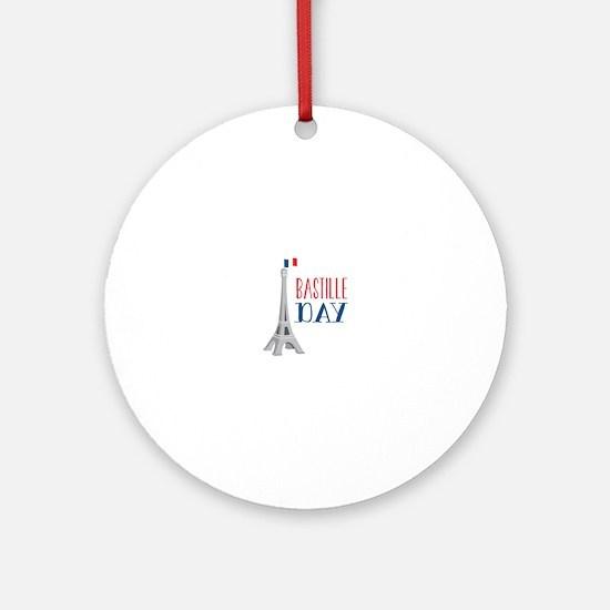 Bastille Day Ornament (Round)