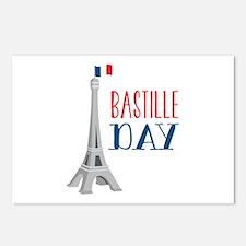 Bastille Day Postcards (Package of 8)