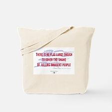 Howard Zinn Quote Tote Bag