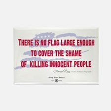 Howard Zinn Quote Rectangle Magnet