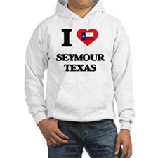 I love Seymour Texas Jumper Hoody