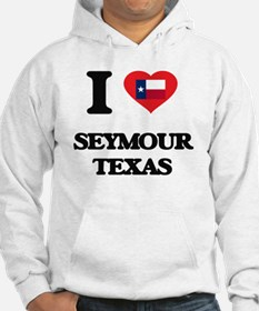 I love Seymour Texas Jumper Hoody
