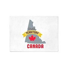 Yukon Territory Canada 5'x7'Area Rug