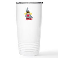 Yukon Territory Canada Travel Mug