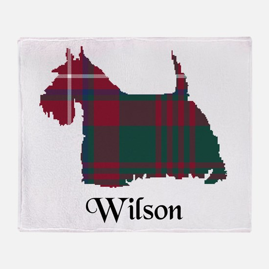 Terrier-Wilson Throw Blanket