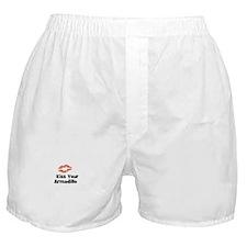 Kiss Your Armadillo Boxer Shorts