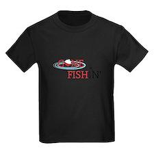 Gone fishing bobber and fishing pole T-Shirt
