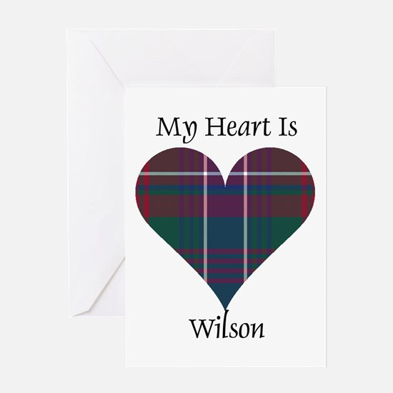 Heart-Wilson Greeting Card