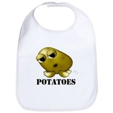 Potato Head with Toes Bib