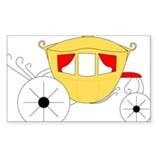 Royal Carriage Rectangle Decal