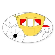 Royal Carriage Oval Decal