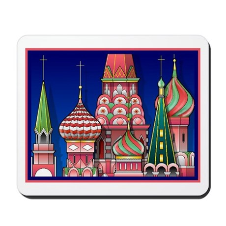 Moscow Architecture Mousepad