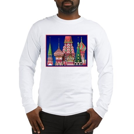 Moscow Architecture Long Sleeve T-Shirt