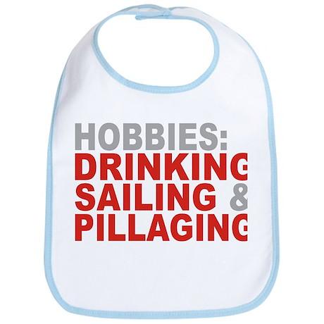Drinking, Sailing, Pillaging Bib