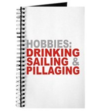 Drinking, Sailing, Pillaging Journal