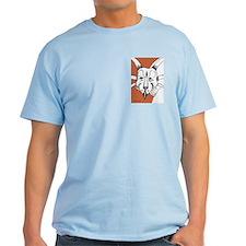 Spiky Orange Styracosaurus T-Shirt