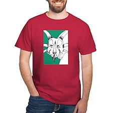 Spiky Green Styracosaurus T-Shirt