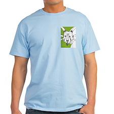 Spiky Bright Green Styracosaurus! T-Shirt