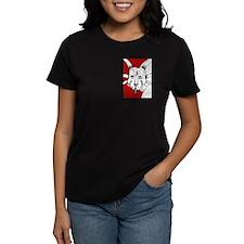 Spiky Red Styracosaurus Tee