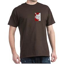 Spiky Red Styracosaurus T-Shirt