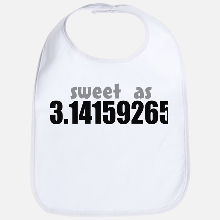 Sweet as Pi Bib