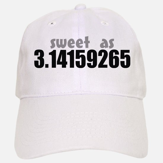Sweet as Pi Baseball Baseball Cap