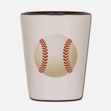 Baseball Ball Shot Glass