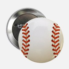 "Baseball Ball 2.25"" Button"