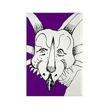 Spiky Purple Styracosaurus! Rectangle Magnet