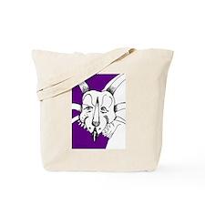 Spiky Purple Styracosaurus! Tote Bag
