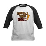 Terrible Twos - Times 2! Kids Baseball Jersey
