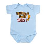 Terrible Twos - Times 2! Infant Bodysuit