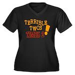 Terrible Twos - Times 2! Women's Plus Size V-Neck