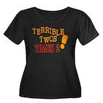 Terrible Twos - Times 2! Women's Plus Size Scoop N